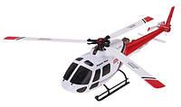 Вертолет 3D микро 2.4GHz WL Toys V931 FBL бесколлекторный (красный)