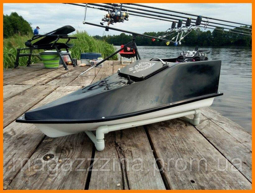 Рыболовный кораблик с эхолотом 15 Ач