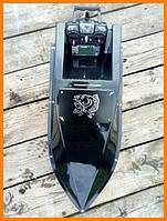 Кораблик для заброса прикормки с эхолотом и GPS