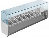 Витрина холодильная для топпинга SRV 1500/330 Rauder (Китай)