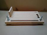 Офисный брошюровочно-переплетный станок ЦОД НТІ  400 х 230 х 120 мм светло-коричневый СП - 80, фото 4