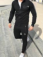 EMPORIO ARMANI черный мужской костюм тройка 3в1 Армани M-XXL 46-56 CAVALIERI