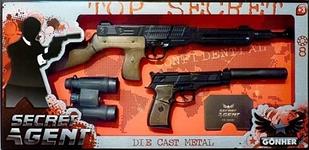 Gonher Набір іграшкової зброї Секретний агент 239/6