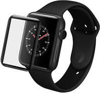 Защитное стекло XoKo для Apple Watch 3D 38 мм Black