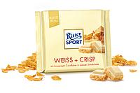 """Шоколад """"Ritter Sport"""" Weiss Crisp 100г"""
