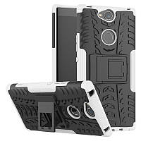 Чехол Sony Xperia XA2 Plus / H4413 противоударный бампер белый