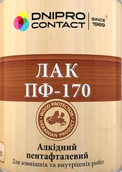 "Лак алкидный ПФ-170 ТМ ""ДНІПРО-КОНТАКТ"" 0,7 кг"