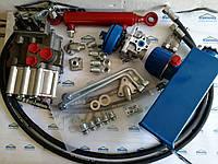 Комплект гидравлики мотоблока с 2-секционным распределителем  , фото 1