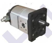 Двухступенчатые (высокого-низкого давления) шестеренные насосы X651HL Hydro-pack