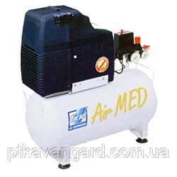 Компрессор безмасляный медицинский 24л, 105 л/мин, 1 цилиндр AIRMED 114-24 FIAC