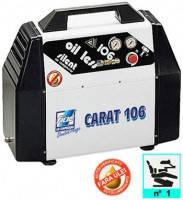 Компрессор безмаслянный медицинский 6 л, 100 л/мин, 1 цилиндр CARAT 106 FIAC (на 1 установока)