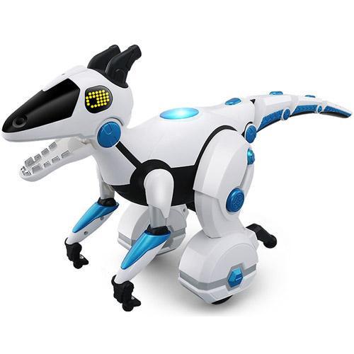 Динозавр 28308 р/у,53см,аккум,реаг.на руку,ездит,муз(англ),свет,USBзар,в кор-ке,41-29-20см