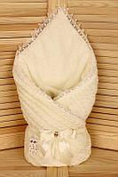 Конверт-одеяло для новорожденных на выписку Змейка (зима), фото 1
