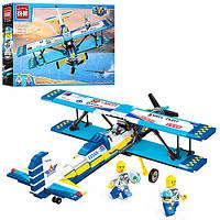 Конструктор BRICK 1125 самолет, фигурки, 354дет, фото 1