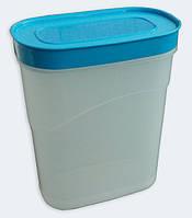 """Ёмкость для сыпучих продуктов пластиковая 2,3 литра """"ЧП КВВ"""""""