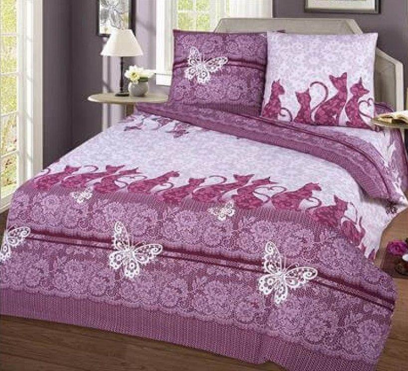Комплект постельного белья Komfort Шармель (Бязь, 100% хлопок) евро