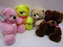 Медведь Веселун 37*34см, 9 цветов