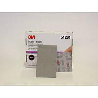 Гибкий абразивный полировальный лист 3M™ Trizact, 80мм х 140мм, P3000