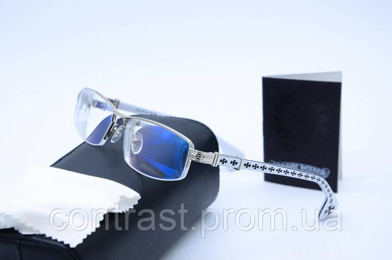 21d8be4e0cf3 Имиджевые очки Chrome Hearts 36508 бел