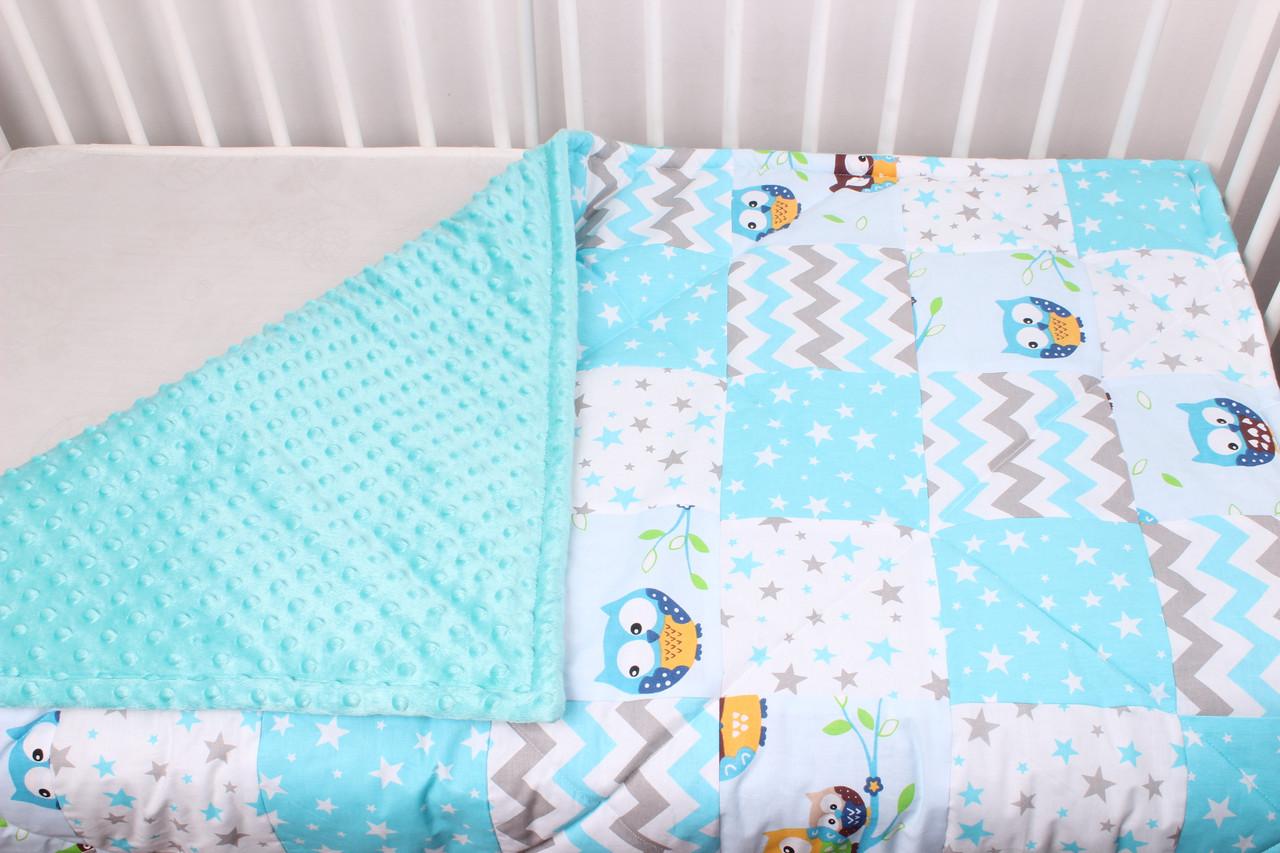 Детское теплое одеяло 80х100 см