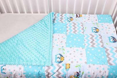 Детское теплое одеяло