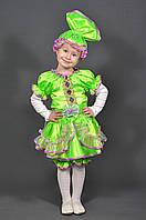 Карнавальный костюм Кукла Конфетка Хлопушка для девочки. Детский новогодний маскарадный костюм (салат)