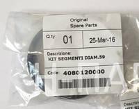 Комплект поршневых колец на компрессор FIAC AB360 и AB510 (4080120000, 1124080012)