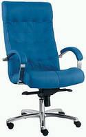 Кресло кожаное для руководителя  «LORD steel chrome» SP