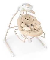 Качели для малышей CAM Gironanna Evo Бежевый с мишкой (S347 - 219)