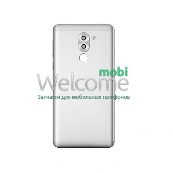 Задня кришка Huawei Honor 6X (BLN-L21),Mate 9 Lite,GR5 (2017) silver, змінна панель хонор 6х, хуавей мейт 9