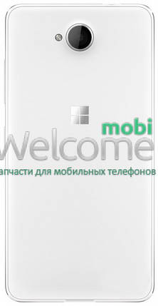 Задняя крышка Microsoft 650 Lumia white, сменная панель люмия люмія, фото 2
