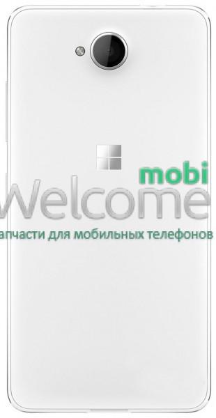 Задняя крышка Microsoft 650 Lumia white, сменная панель люмия люмія