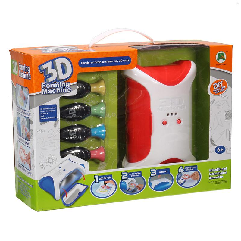 """Набір для творчості SUNROZ 3D Forming Machine дитячий """"3D принтер"""" Червоний (SUN2353)"""