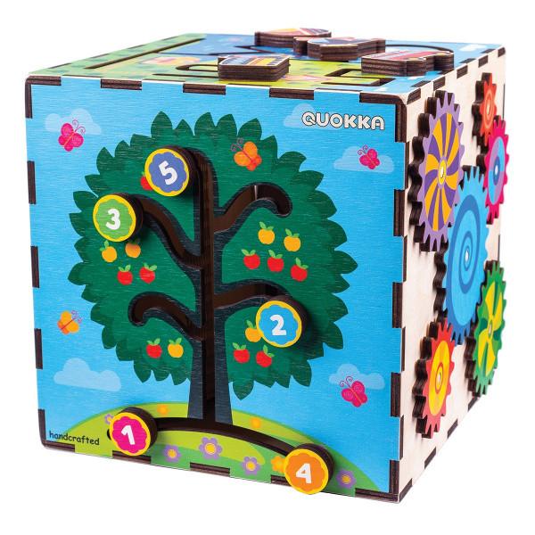Развивающая игрушка Quokka Интерактивный куб (QUOKA001A)
