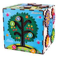 Развивающая игрушка Quokka Интерактивный куб (QUOKA001A), фото 1