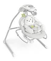 Качели для малышей CAM Gironanna Evo Серый с зайцем (S347 - 226)