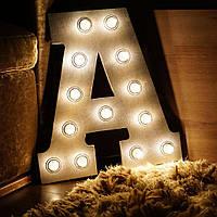 Изготовление букв для световых вывесок наружной рекламы | Рекламные буквы с подсветкой для фасадов зданий