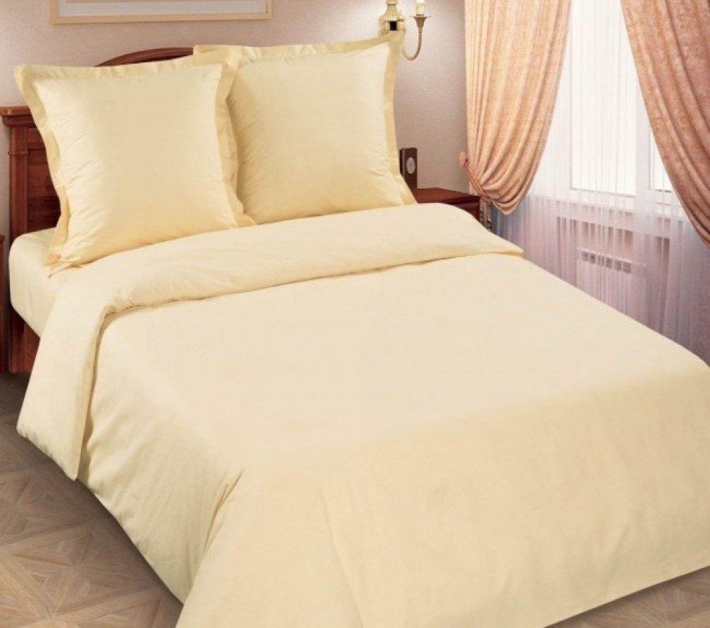 Комплект постельного белья Царский Дом из поплина ШАМПАНЬ Двухспальный
