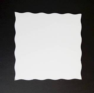 Белый мелованный картон