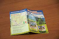 Печать буклетов А5, А4, евробуклетов, минибуклетов