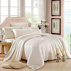 Комплект постельного белья Царский Дом из Сатина MILK Семейный