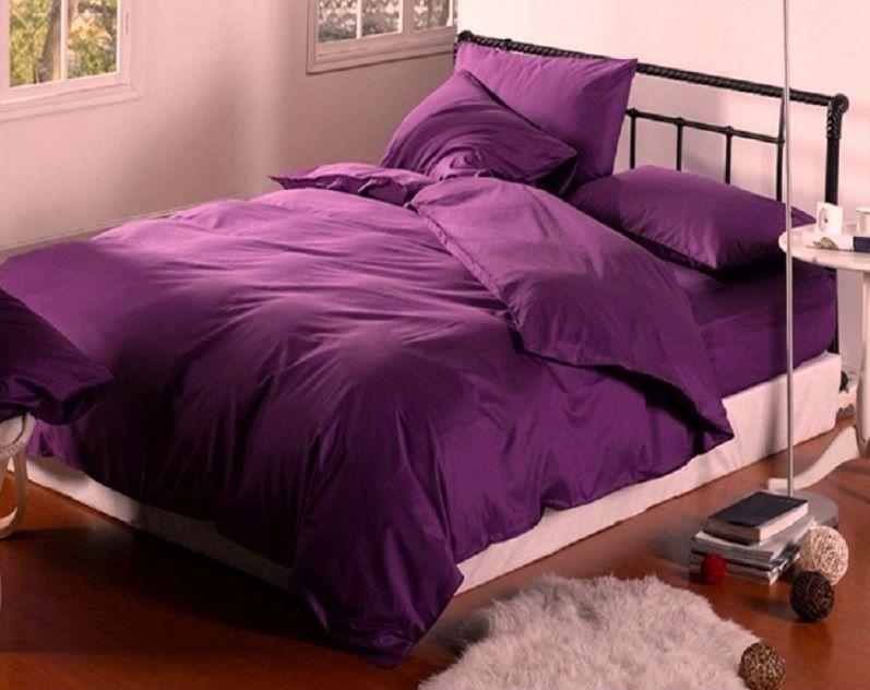Комплект постельного белья Царский Дом из Сатина PLUM Полуторный