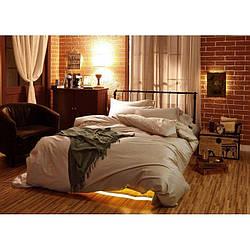 Комплект постельного белья Царский Дом из Сатина SOFT SALMON Двухспальный