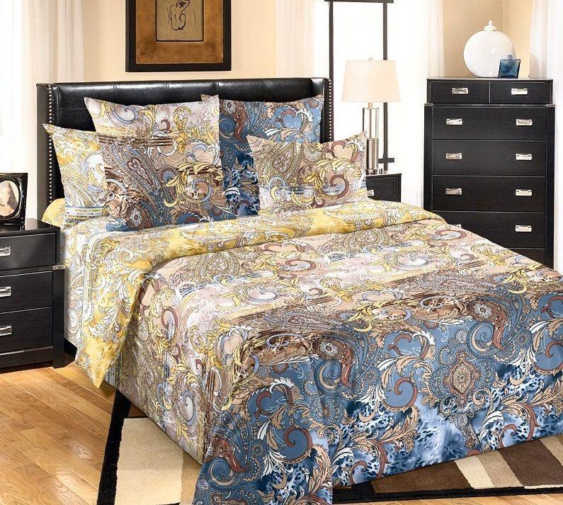 Комплект постельного белья Царский Дом ИЗЫСК (Перкаль) двухспальный