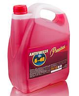 Антифриз G11 концентрат 5кг (красный) TM Premium