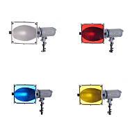 Цветные фильтры Visico FH-601 для рефлектора BF-601