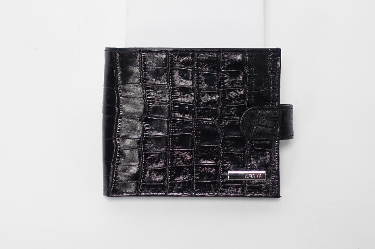 Кошелек кожаный KARYA 0431-53 black