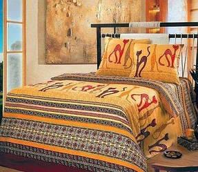 Комплект постельного белья Царский Дом КОШКИ (Бязь, 100%хлопок) Евро