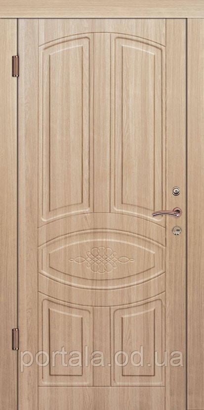 """Входная дверь для улицы """"Портала"""" (Премиум Vinorit) ― модель Ришелье"""
