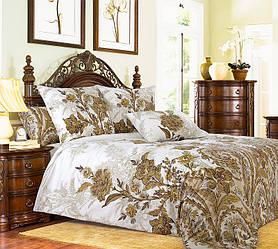 Комплект постельного белья Царский Дом МУЗЕЙ молочный (Перкаль) двухспальный